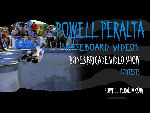BONES BRIGADE VIDEO SHOW CH. 10 CONTESTS