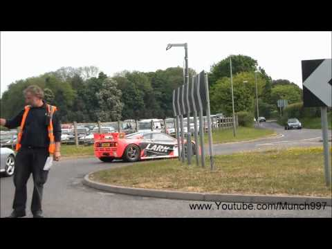 McLaren F1 GTR LARK Racing - Driving on UK Roads
