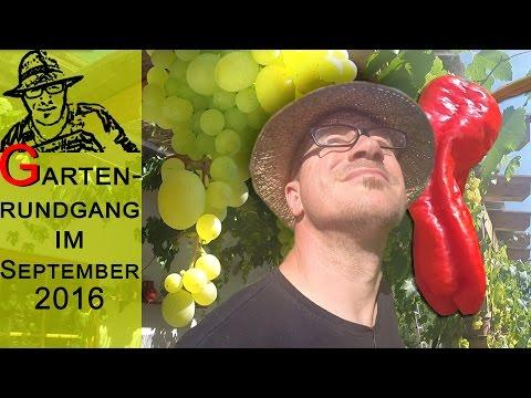 Der Selbstversorger-Gartenrundgang im September 2016