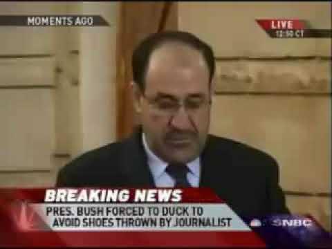 Džordž Buš protiv letećih cipela