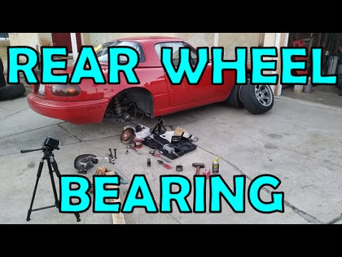 Replace Your Rear Wheel Bearing Without a Press!
