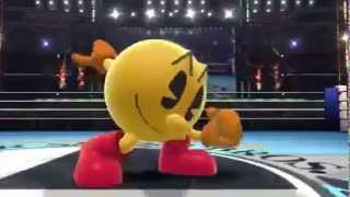 Super Smash Bros 4 - Pacman Announcement Official Trailer