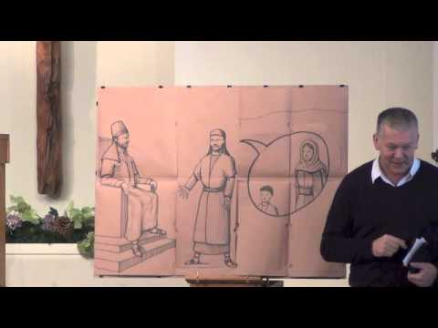 Children's Bible Talk - God Arranges All Things (Elisha Part 14)