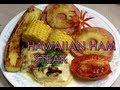 Hawaiian Ham Steak Video Recipe cheekyricho