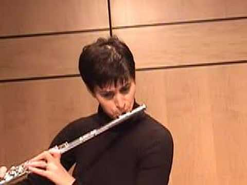 Telemann Flute Fantasy in b minor, Nina Perlove