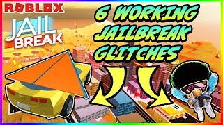 6 *WORKING* JAILBREAK GLITCHES | DECEMBER 2018 | USEFUL AND FUNNY HACKS (Roblox)