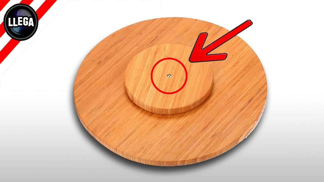 Recetas de cocina como hacer una tabla giratoria para for Como hacer una cocina