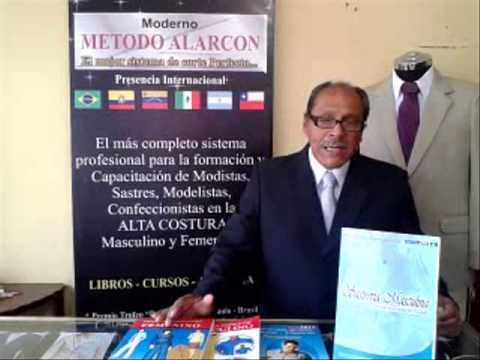 LIBROS DE SASTRERIA METODO ALARCON