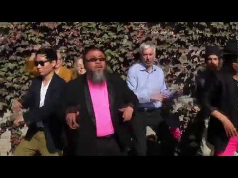 Ai Weiwei Does Gangnam Style video
