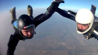 4-way skydiving