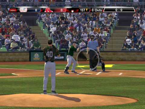 (PC mod) MLB 2K9 NYY vs BOS part1