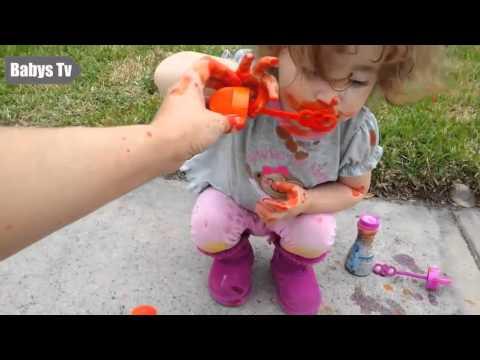 Cute Babies Blowing Bubbles Compilation 2015 - Babys Tv , # 37