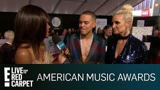 Ashlee & Evan Rave Over Tracee Ellis Ross Hosting 2018 AMAs | E! Red Carpet & Live Events