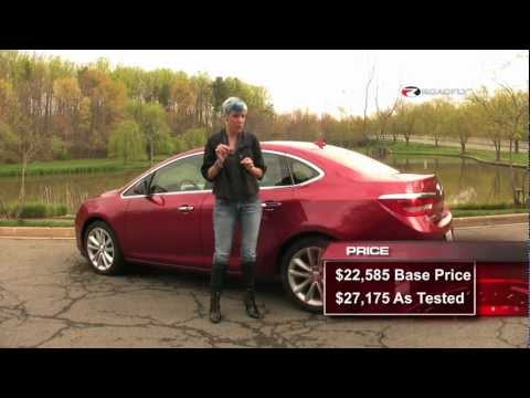 Buick Verano 2012 Test Drive & Car Review with Emme Hall by RoadflyTV
