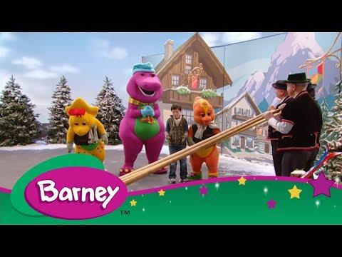 Barney's Around the World Adventure - Part 1 (Full Episode)