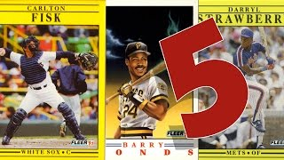 Five Worst Baseball Card Products EVER
