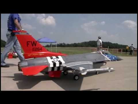 "US Largest R/C Jet Turbine Airshow  ""Jets Over Kentucky 2010""  Video 5 of 6"
