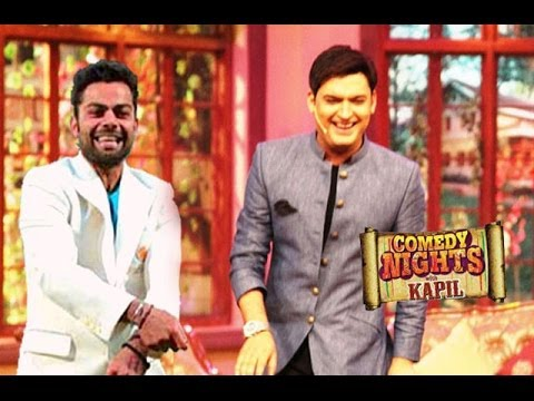 Anushka Sharma's Boyfriend Virat Kohli Comes To Comedy Nights With Kapil 21st April Full Episode Hd video