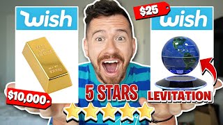 I Bought The BEST Rated Items On Wish!!