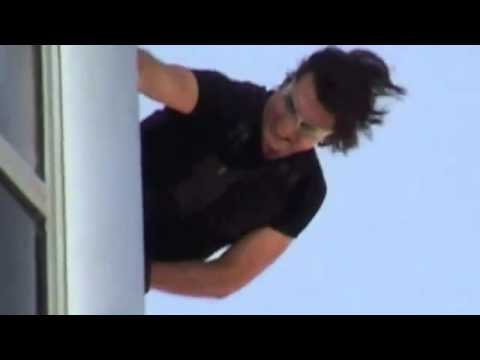 Tom Cruise Burj Khalifa Mission Impossible Ghost -Dubai