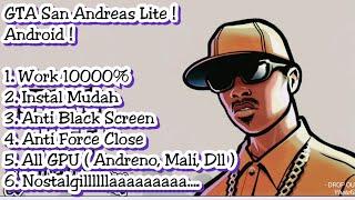 GTA San Andreas Lite Android ! Fix Black Screen, No Error, No blank Screen !