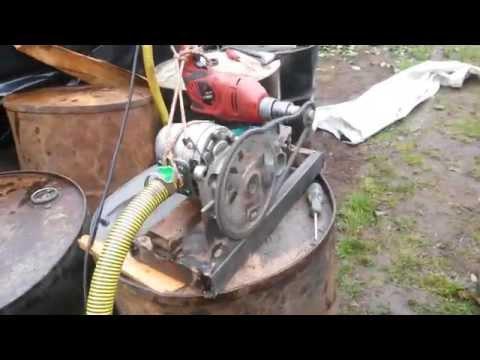 Как сделать масло насос