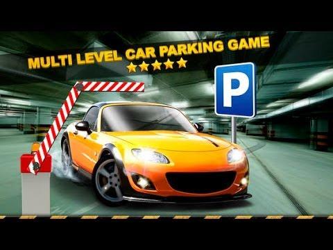 3D Multi Level Car Parking Simulator Game GamePlay