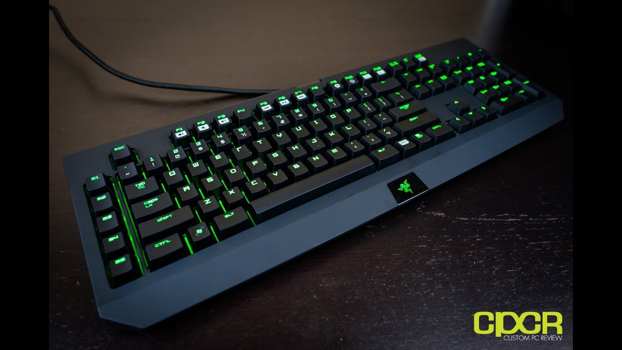 razer blackwidow 2013 mechanical gaming keyboard unboxing