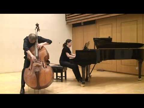 Koussevitzky concerto for d bass and orchestra 1st mov rinat