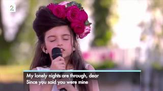 Little Angel Angelina Jordan Sings What a Difference a Day Makes
