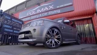 Range Rover Sport Full Wrapping Video @ Polimax Motorsport