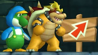 New Super Bowser and Yoshi Bros. Wii - 2 Player Co-Op - #09