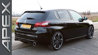 PEUGEOT 308 GTi by Peugeot Sport (270 pk) - TestDrive (English Subtitles) (2016)