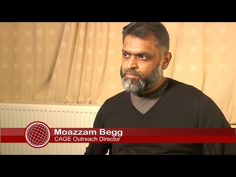 Nottingham stand up to racism with Moazzam Begg 03/03/16