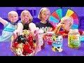 Mystery Wheel of Ice Cream Toppings Sundae Challenge!