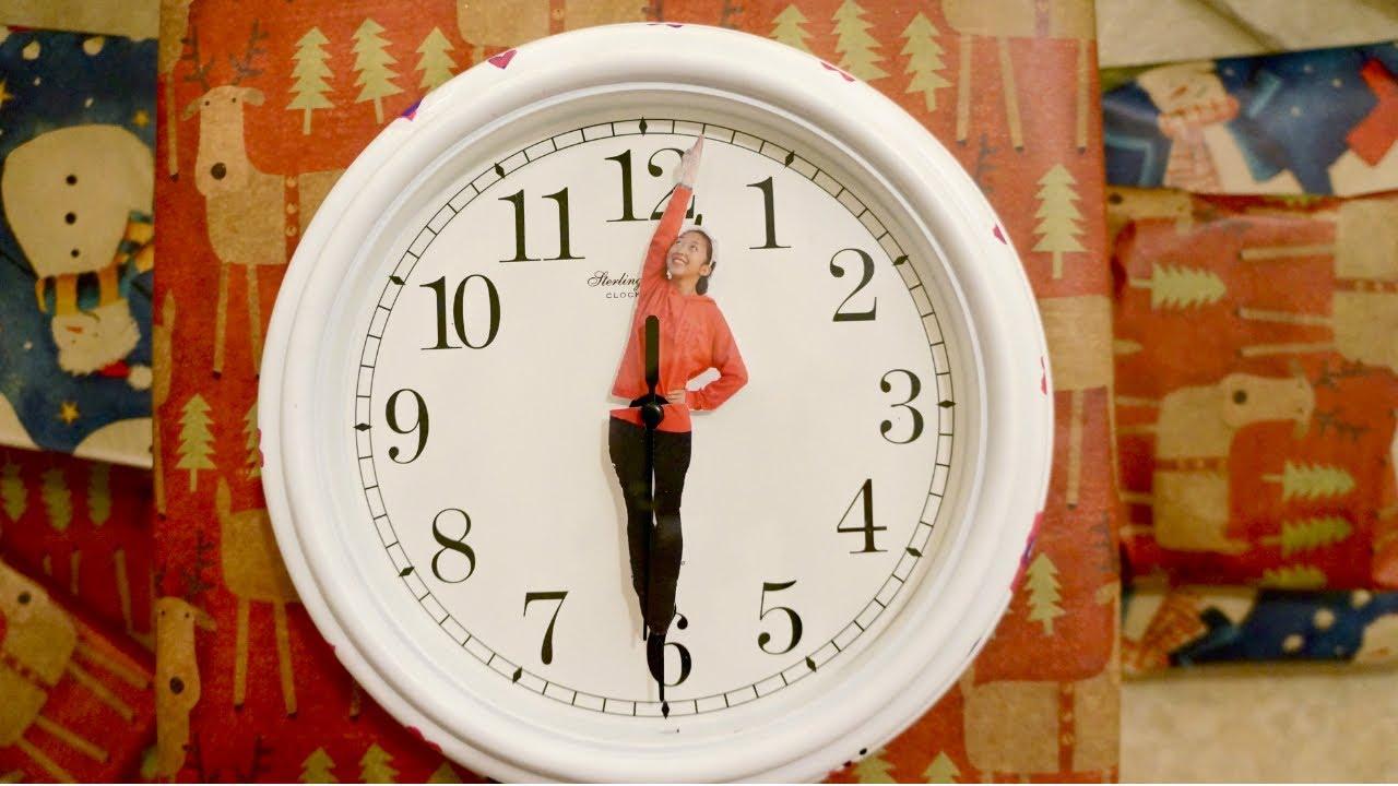 gift idea diy personalized clock hands youtube. Black Bedroom Furniture Sets. Home Design Ideas