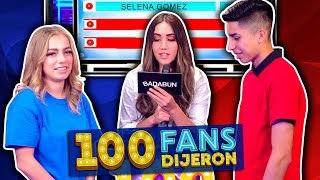 100 Fans Dijeron Ep. 21 | YouTubers VS sus hermanitos
