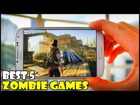 Top 5 Best Zombie Games for Android/iOS in 2016/2017 || High Graphics Games
