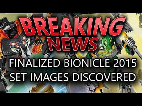 Finalized BIONICLE 2015 Set Images Revealed