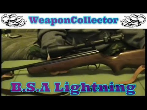 My .22 B.S.A. Lightning Air Rifle