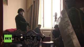 Ukraine: Snipers target police in Independence Square