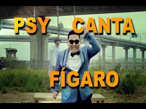 Psy canta F?garo (PSY sings