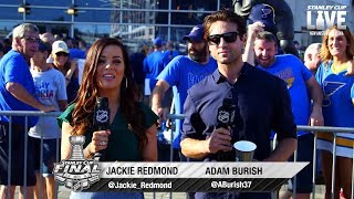 Barret Jackman, Kelly Chase and Jenna Fischer join Stanley Cup LIVE to preview Game 6
