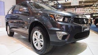 SsangYong Actyon Sports e-XDi220 Diesel MT 4WD Quartz  -  Exterior and Interior Lookaround