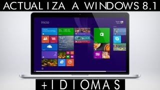 Instala Windows 8.1 RTM Español + Paq. de idiomas