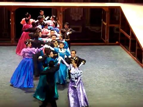 bailes de antaño, epoca del porfiriato- ENDF. programa bicentenario 2009