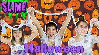 SLIME Challenge 5 - Halloween slime