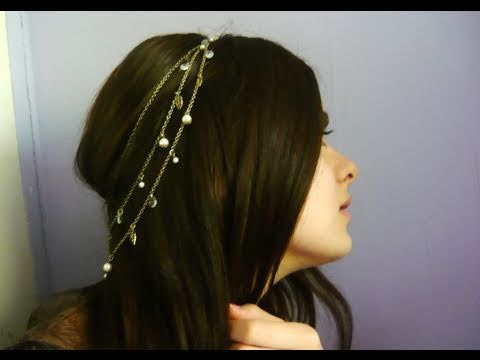 Anne Boleyn inspired hairstyle
