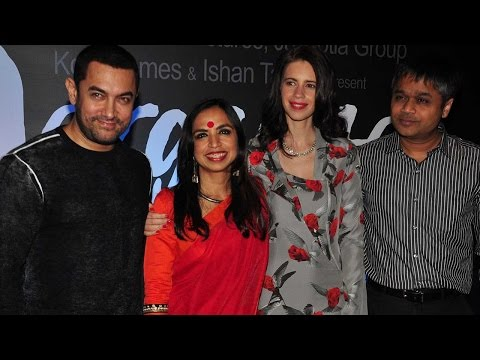 Aamir Khan, Kalki Koechlin & Shonali Bose At Trailer Launch Of Margarita With A Straw