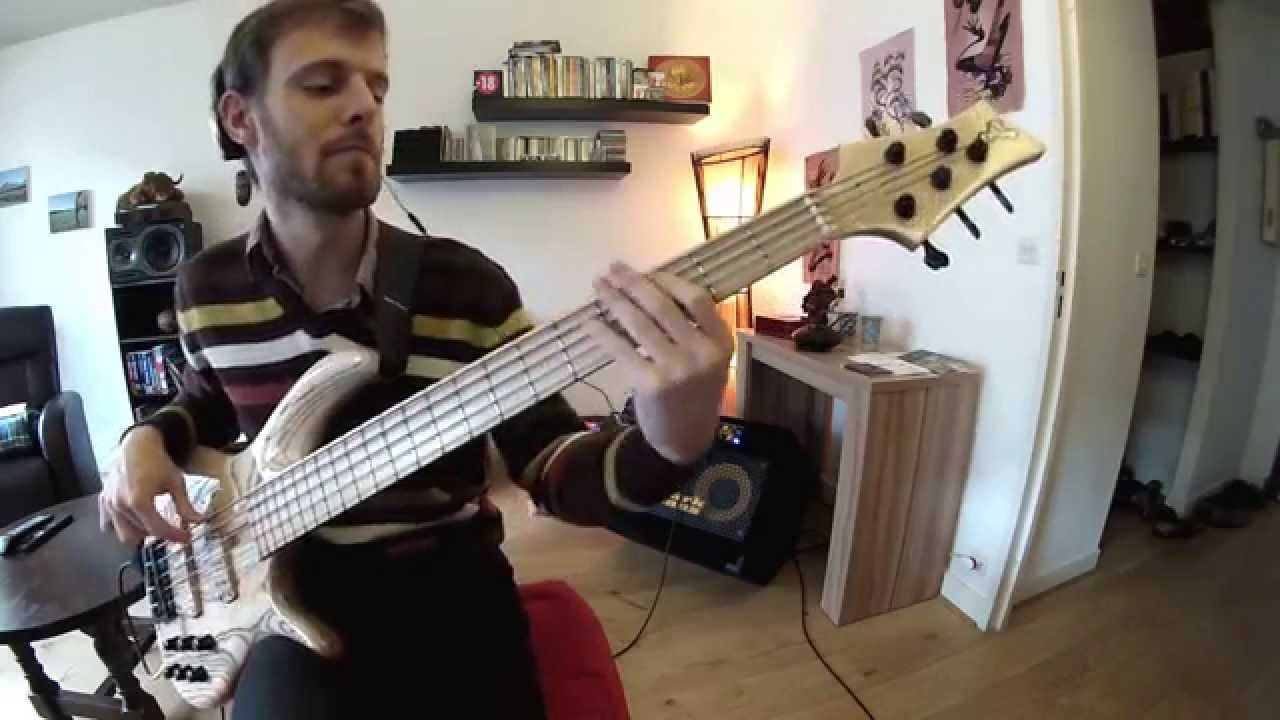 how to play one way out on bass